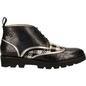 Chaussures Femme Boots Melvin & Hamilton Derbies Schwarz