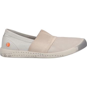 Chaussures Femme Mocassins Softinos Babouche Hellgrau