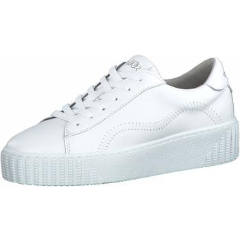 Chaussures Femme Baskets mode S.Oliver Sneaker Weiß