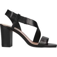 Chaussures Femme Sandales et Nu-pieds Steven New York Sandales Schwarz