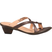 Chaussures Femme Tongs Think Sandales Taupe