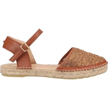 Chaussures Femme Sandales et Nu-pieds Fred de la Bretoniere Sandales Cognac
