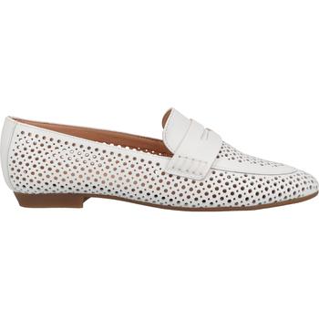 Chaussures Femme Mocassins Scapa Babouche Weiß