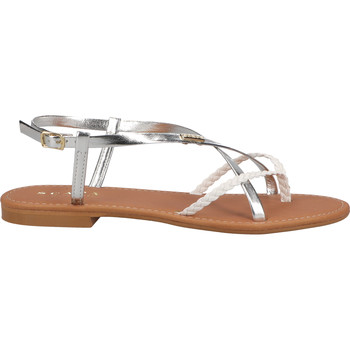 Chaussures Femme Tongs Scapa Sandales Silber