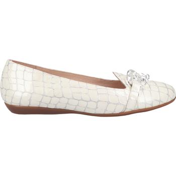 Chaussures Femme Mocassins Wonders Babouche Weiß