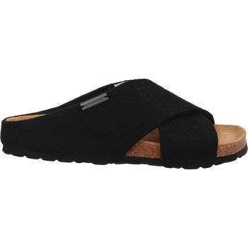 Chaussures Femme Sandales et Nu-pieds Shepherd Pantoufles Schwarz