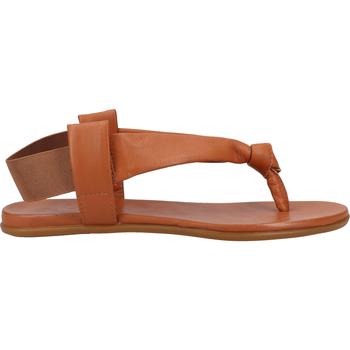 Chaussures Femme Claquettes Ilc Sandales Cognac
