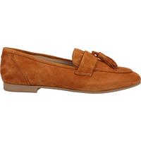 Chaussures Femme Mocassins Sansibar Babouche Braun