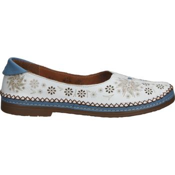 Chaussures Femme Mocassins Cosmos Comfort Babouche Weiß/Blau