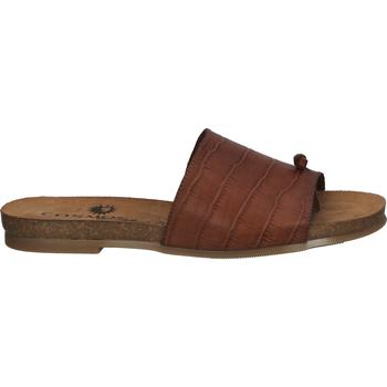 Chaussures Femme Tongs Cosmos Comfort Sandales Kastanie