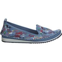 Chaussures Femme Mocassins Cosmos Comfort Babouche Blau