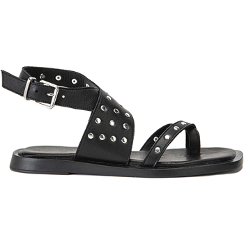 Chaussures Femme Tongs Inuovo Sandales Schwarz