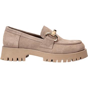 Chaussures Femme Mocassins Inuovo Babouche Dunkelbeige