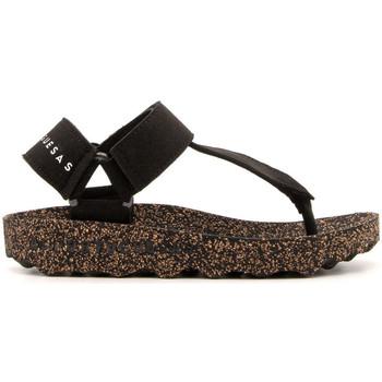 Chaussures Femme Tongs Asportuguesas FIZZ-BLACK NERO