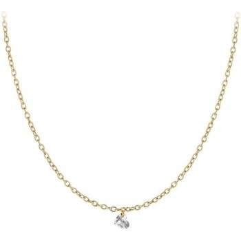 Montres & Bijoux Femme Colliers / Sautoirs Sc Crystal B2382-DORE-10004-CRYS Doré