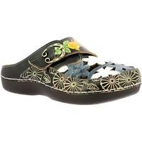Chaussures Femme Sabots Laura Vita Bicllyo 08 Noir