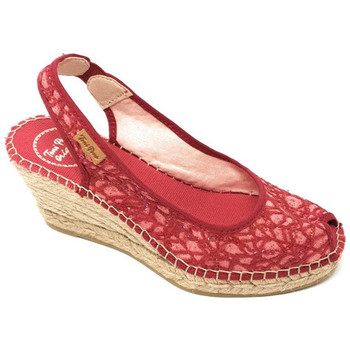 Chaussures Femme Sandales et Nu-pieds Toni Pons MINORCHINA  - BEA ROUGE rouge