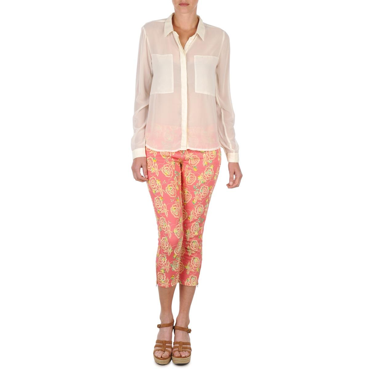 Pantalons 7/8 et 3/4 Manoush PANTALON GIPSY JEANS Rose
