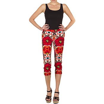 Vêtements Femme Pantacourts Manoush PANTALON POPPY Rouge