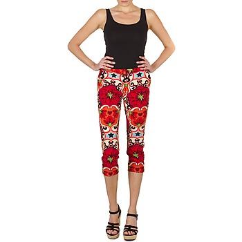 Pantalons 7/8 et 3/4 Manoush PANTALON POPPY Rouge 350x350