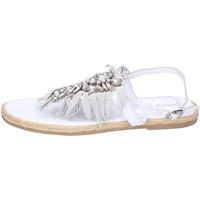 Chaussures Fille Sandales et Nu-pieds Holalà BH20 Blanc