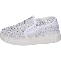 Chaussures Fille Slip ons Holalà BH22 Blanc