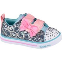 Chaussures Enfant Fitness / Training Skechers Sparkle Lite-Lil Heartsland Grise