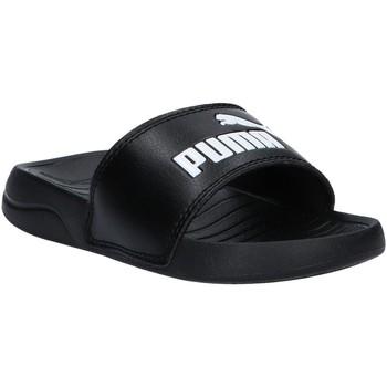 Chaussures Enfant Claquettes Puma 372313 POPCAT Negro
