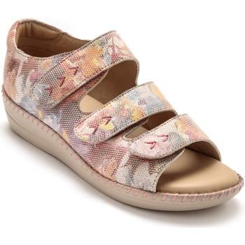 Chaussures Femme Sandales et Nu-pieds Pediconfort Sandales ouverture totale spécial pieds imprim
