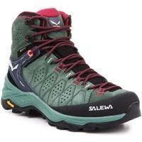 Chaussures Femme Randonnée Salewa WS Alp Trainer 2 Mid GTX 61383-5085 oliwkowozielony