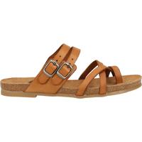 Chaussures Femme Tongs Cosmos Comfort Sandales Beige