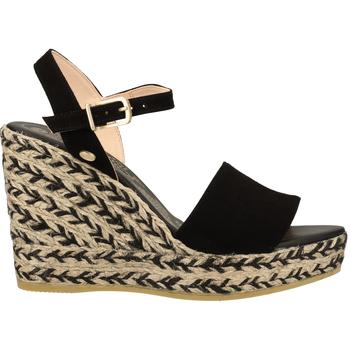 Chaussures Femme Sandales et Nu-pieds Fred de la Bretoniere Sandales Schwarz