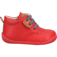 Chaussures Garçon Chaussons bébés Kickers Derbies Rot/Braun
