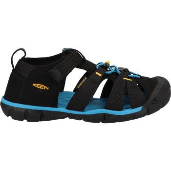 Chaussures Garçon Sandales sport Keen Sandales Schwarz/Gelb