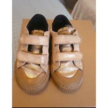 Chaussures Fille Baskets basses Victoria Baskets victoria Doré