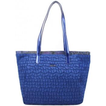 Sacs Femme Sacs porté main Patrick Blanc Sac épaule  motif Bleu marine Multicolor