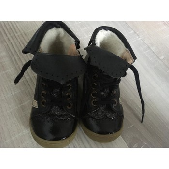Chaussures Fille Baskets montantes Babybotte Baskets Babybotte fille Noir