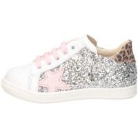 Chaussures Fille Baskets basses Gioiecologiche 5575 blanc / fuchsia