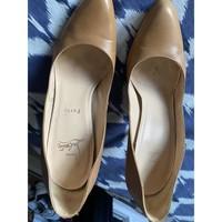 Chaussures Femme Escarpins Christian Louboutin Escarpins Louboutin beige 40 Beige