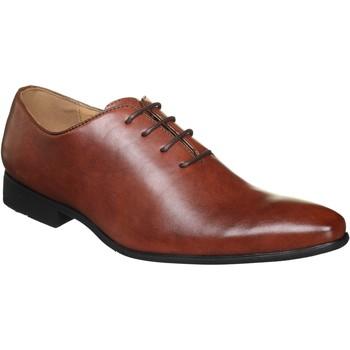 Chaussures Homme Richelieu Uomo Derbie basses à lacets Marron