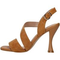 Chaussures Femme Sandales et Nu-pieds Luciano Barachini GL263R CUIR