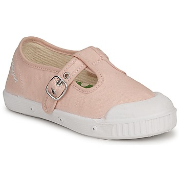 Chaussures Enfant Baskets basses Springcourt MS1 CLASSIC K1 Rose