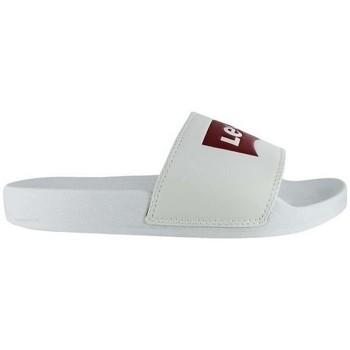 Chaussures Femme Claquettes Levi's JUNE Blanc