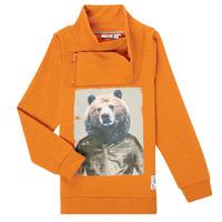 Vêtements Garçon Sweats Name it NKMKUVAU LS SWE Orange