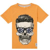 Vêtements Garçon T-shirts manches courtes Name it NKMKSOYTAN SS TOP Jaune