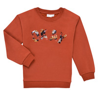 Vêtements Fille Sweats Name it NKFOCALI LS SWEAT Rouge
