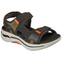 Chaussures Homme Sandales et Nu-pieds Skechers SANDALE  - ALLER MARCHER ARC AJUSTEMENT OLOR vert