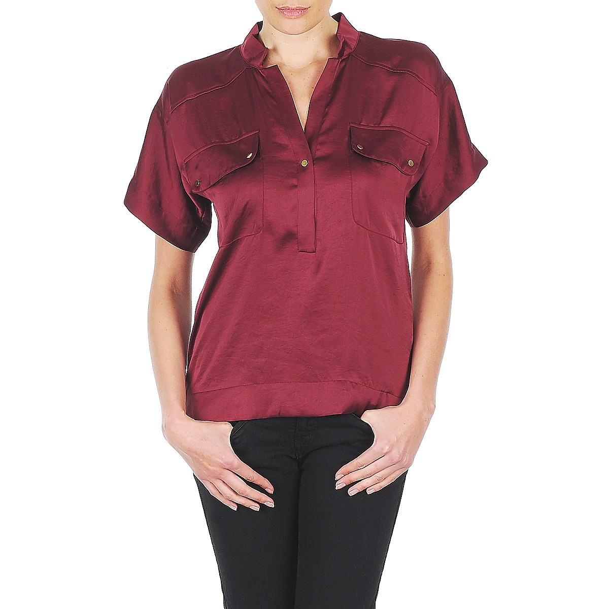 Blouses Lola COLOMBE ESTATE Bordeaux