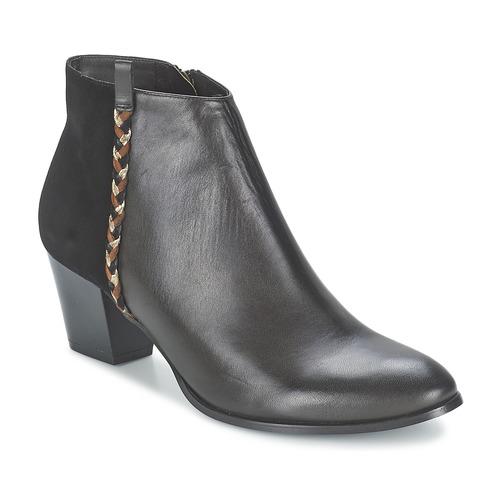 Bottines / Boots Bocage MANNUELA Noir 350x350