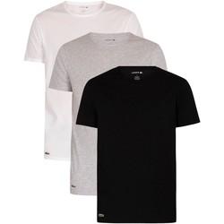 Vêtements Homme T-shirts manches courtes Lacoste Lot de 3 t-shirts de détente Essentials multicolore